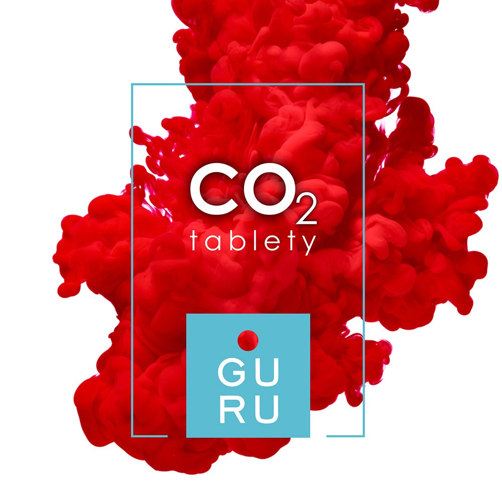 GURU CO2 Tablety 150ks, CO2 generátor