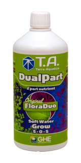 T.A. DualPart Grow Soft Water (FloraDuo) 1L